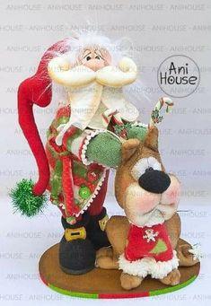 Family Holiday, Holiday Fun, Holiday Decor, Elves, Projects To Try, Alice, Santa, Teddy Bear, Christmas Ornaments