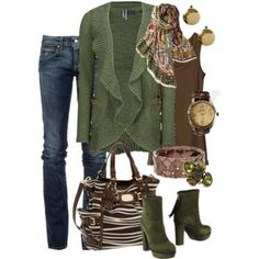 fall casual - Polyvore