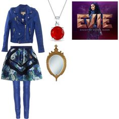 Evie from Disney's Descendants by keeannesteele on Polyvore featuring polyvore fashion style MICHAEL Michael Kors Emilio Pucci Zimmermann Bling Jewelry Disney