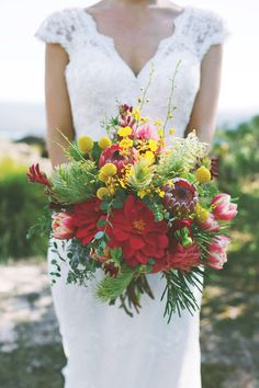 Gorgeous Australian native bouquet by Sydney's Merci Bouquet