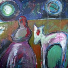 """Red and the Wolf by Lorie McCown 