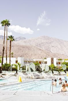 Ace Hotel.  Palm Springs CA.