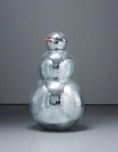 """""""Disco Ball Snowman"""""""
