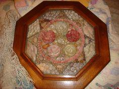 SAILOR LOVE VALENTINE Antique Seashell Art Vintage by TimeTested, $800.00