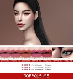 GPME SoftMatte set by GOPPOLS Me for The Sims 4