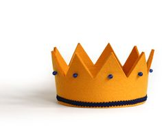 Felt crown from Hase Weiss
