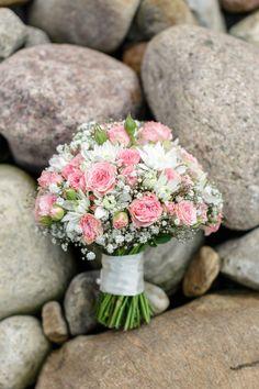 Brautstrauß rosa - vom Sonnenblümchen in Schenefeld bei Hamburg.