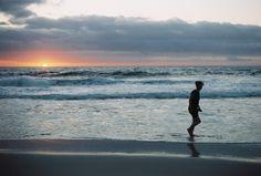 Beach sunset in Capetown South Africa Frédéric Maciejewski