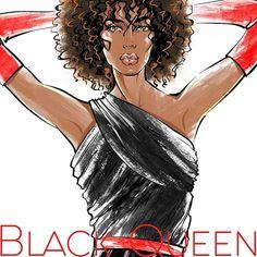 Fashion portrait for Black Queen  And for you ;) Text me dm for order))) ♾ Немножко необычной красоты для средней полосы России. Даешь огня среди сугробов . #рисуюкаждый день конечно ;) *** Для заказа портрета велком в директ  . . . . . . . . . . . . . . . . . . #Artistsuniversity #artshub #artisticscene #artistscoutz #fashion #black #red #queen #blackqueen #blackgirls  #blackwoman #fashionillustration #portrait #blackred #order #скетч #фэшнскетч #фэшниллюстрация #иллюстрация #drawadot