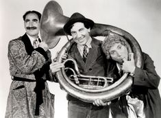 The Marx Brothers Photo Hollywood Comedy Team 1940s