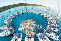Shots shared on social media of vintage Veuve Cliquot, private jets and brand new Bugattis could be the undoing of the uber-wealthy. Veuve Cliquot, Yacht Week, Yacht Party, Catamaran, Photos Of The Week, Rafting, Kayaking, Places To See, Summertime