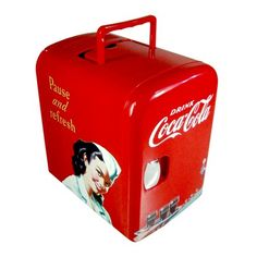 Mini Geladeira Retrô Coca-cola Drive In E Drive Thru. R$546.03