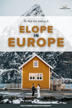 Discover the best places to elope in Europe and start planning your 2021 elopement. Wild Camp, Beautiful Norway, Julian Alps, Tatra Mountains, Best Ski Resorts, Lofoten, Northern Italy, The Good Place, Wedding Inspiration