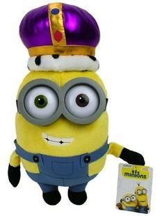 Minions Knuffel Bob - Koning (28cm) #minion #minions #kevin #bob #pluche #speelgoed #knuffel #minionsartikelen