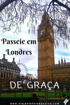 Sonha em conhecer Londres? Veja essas 23 atrações para conhecer a capital inglesa totalmente de graça! #londres #inglaterra #viagembarata #viagemeconomica #viajarbarato #europa #reinounido
