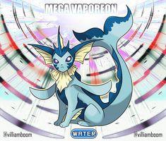 An elegant beast Real Pokemon, Pokemon Oc, Pokemon Eeveelutions, Eevee Evolutions, Pokemon Fan Art, Cute Pokemon, Satoshi Pokemon, Pokemon Fusion Art, Mega Evolution