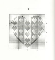 30 Free Heart Cross Stitch Patterns I always imagined choosing one designing and making it in a whole bunch of different colors and make a ...