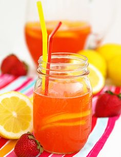 Whether you are searching for kid drinks, summer cocktails or healthy smoothies, Pip and Ebby offers up a variety of drink recipes that can easily be made in your kitchen! Smoothie Drinks, Healthy Smoothies, Kid Drinks, Beverages, Tasty, Yummy Food, Getting Hungry, Strawberry Lemonade, Summer Cocktails