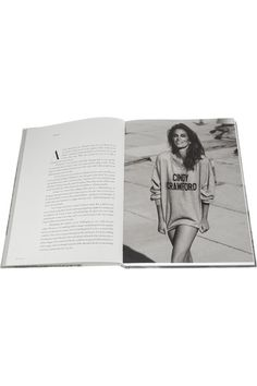 Rizzoli - Becoming By Cindy Crawford Hardcover Book - White - one size