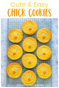 Cute chicken cookie recipe - fun and easy Easter recipe for kids friendly recipes fun Strawberry Recipes, Fruit Recipes, Cupcake Recipes, Cookie Recipes, Easy Easter Recipe For Kids, Easy Easter Recipes, Cute Chickens, Fall Dinner Recipes, Simply Recipes