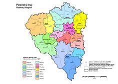 Plzeňský kraj Bart Simpson, Map, Fictional Characters, Cards, Maps