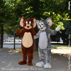 #SKY e il parco dei #cartoon : #TomandJerry - #TomtheCat #JerrytheMouse #William #Hanna and #Joseph #Barbera - #boomerangtoons #cartoons #Sky #CheSpettacolo - #Giardini #Indro #Montanelli #Milano #Italy - #Gabriella #Ruggieri for  #1blog4u - #Sergio #Bellotti - ph. credit #Vaifro #Minoretti for 1blog4u