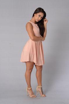 Lisa Dress - Blush