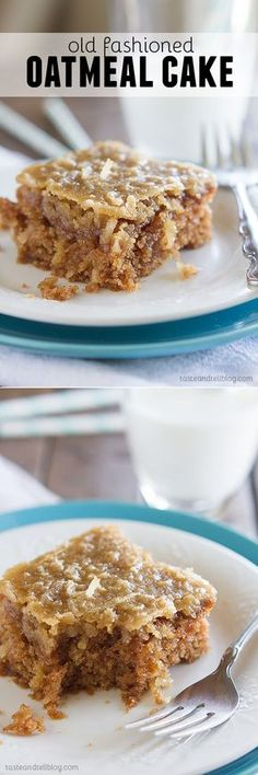 Old Fashioned Oatmeal Cake - it might not win any beauty awards, but one bite and it will instantly become a family favorite!
