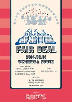 "A Party Flyer ""Fair Deal"""