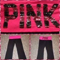 PRICE DROPVictoria's Secret Yoga Pants! Victoria's Secret Pink Yoga pants. Firm Price. Victoria's Secret Pants