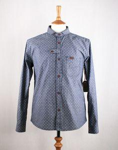 Marshall Artist Double Pocket Shirt - Dark Indigo