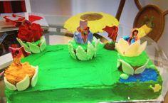 Tinker Bell & Disney Fairies cake For neighbour Leta for her daughter