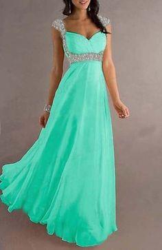New Lange Abendkleider Ballkleider Cocktailkleider Kleid Kleid Größe: 32-42 | eBay