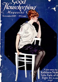 Coles Phillips - Good Housekeeping Magazine cover (November 1915)