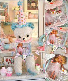 Altered teddy bear!