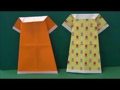 Origami Daily - 308: Dress - TCGames HD - YouTube