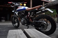 """Garage Project Motorcycles - """"Ottocento11"""" is a custom Honda Dominator NX by..."""
