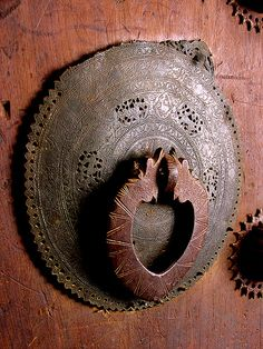 Persian knocker / Iranian door details