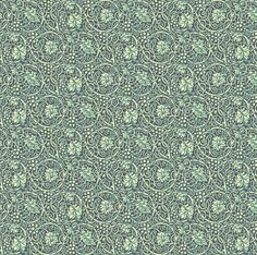 Winter Vines Sage fabric by amyvail on Spoonflower - custom fabric