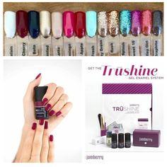 TruShine Gel Enamel DIY Gel nails at home Gel colors Black Cherry gel gel nails Jamberry Check it out here :) https://laurenbaars.jamberry.com/au/en
