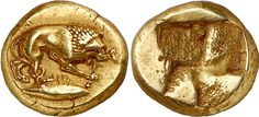 (Turkey) A Unique & Exceptional Greek Electrum Hekte. ca century BCE. the Finest of All Kyzikos Hektes. Electrum, Coin Art, Gold And Silver Coins, Greek Jewelry, Antique Coins, Greek Art, World Coins, Rare Coins, Ancient Artifacts