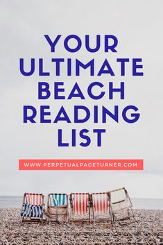 In need of a good beach read? Check out this list of books perfect to read on the beach or poolside this summer!