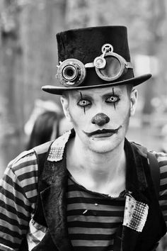 Dark clown...