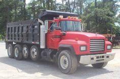 Mack Dump Truck, Mack Trucks, Plymouth, Quad, Dump Trucks For Sale, Mack Attack, Equipment Trailers, Diesel Cars, Wheels And Tires