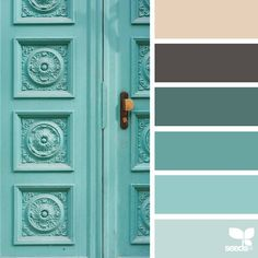 today's inspiration image for { a door hues } is by @marjamatkalla ... thank you, Marja, for another inspiring #SeedsColor image share!