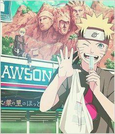 Menma (Naruto) y Minato❤♥❇⭐