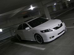 Toyota Tuning Blog: 2009 Toyota Camry White on White | what I wanna do to my car