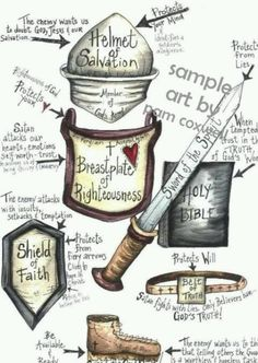 Put on the armor of God!!
