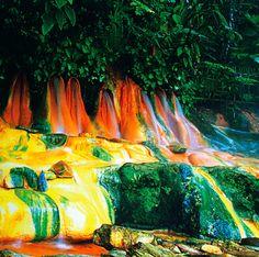Pemandian air panas pancuran 7 - Wisata Alam Jawa Tengah : Purwokerto