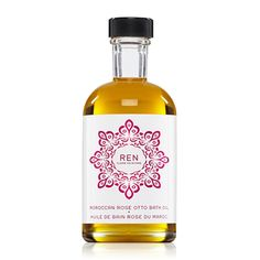 Discover Moroccan Rose Otto Bath Oil by Ren at MECCA. A luxurious bath oil formulated with one of the world's most precious essential oils: Moroccan Rose Otto. Your skin will be left nourished and lightly rose scented. Ren Clean Skincare, Asian Skincare, Natural Sleep Remedies, Insomnia Remedies, Rose Bath, Geranium Oil, Body Cleanser, Rose Oil, Best Perfume